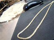 "16"" Gold Rope Chain 14K 2 Tone Gold 12g"